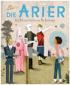 """Kinoplakat """"Die Arier"""" von Mo Asumang"""