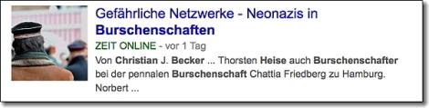 Screenshot von ZEIT ONLINEs Themenseite Störungsmelder. Klicken und lesen.